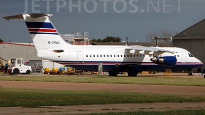 G-OFMC - British Aerospace Avro RJ100 - Flightline