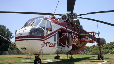 N722HT - Sikorsky CH-54B Skycrane - Helicopter Transport Services