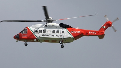 EI-ICG - Sikorsky S-92A Helibus - Ireland - Coast Guard
