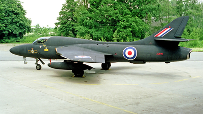 XL616 - Hawker Hunter T.7 - United Kingdom - Royal Air Force (RAF)