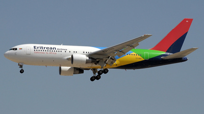 A picture of E3AAQ - Boeing 767238(ER) - [23309] - © Paul Denton