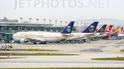 TF-AMT - Boeing 747-481 - Saudi Arabian Airlines (Air Atlanta Icelandic)