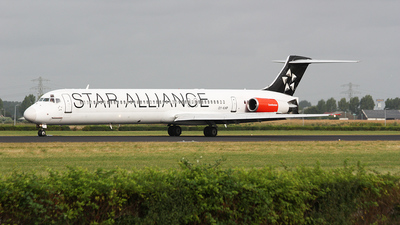 OY-KHP - McDonnell Douglas MD-81 - Scandinavian Airlines (SAS)