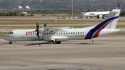 EC-KVI - ATR 72-212A(500) - Swiftair
