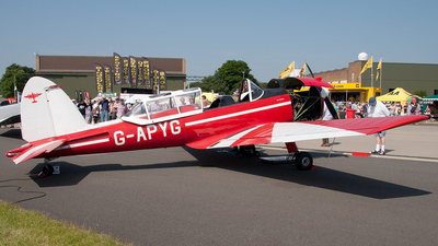 A picture of GAPYG - De Havilland Canada DHC1 Chipmunk - [C1/0060] - © Ian Busby