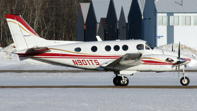 N901TS - Beechcraft C90B King Air - Private