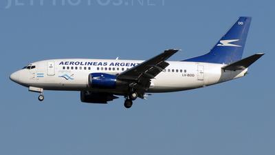 LV-BDD - Boeing 737-5Y0 - Aerolíneas Argentinas