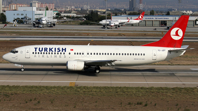 TC-JDT - Boeing 737-4Y0 - Turkish Airlines