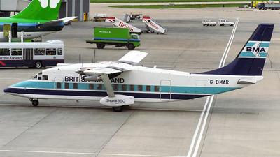 G-BMAR - Short 360-100 - British Midland
