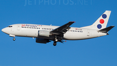 YU-ANI - Boeing 737-3H9 - Jat Airways
