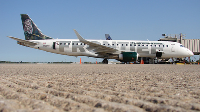 N169HQ - Embraer 190-100IGW - Frontier Airlines (Republic Airlines)
