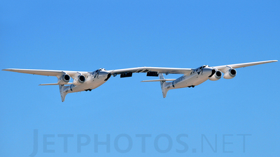 N348MS - Scaled Composites 348 White Knight II - Virgin Galactic