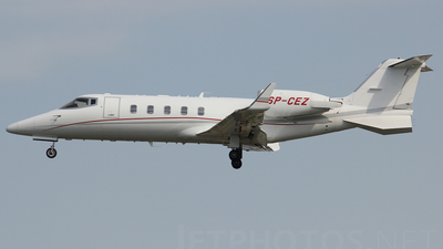 SP-CEZ - Bombardier Learjet 60 - Private