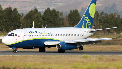 CC-CTD - Boeing 737-2Q3(Adv) - Sky Airline