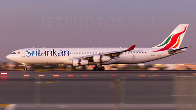 4R-ADC - Airbus A340-311 - SriLankan Airlines