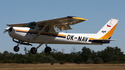 OK-NAV - Reims-Cessna F152 - Aero Club - Czech Republic