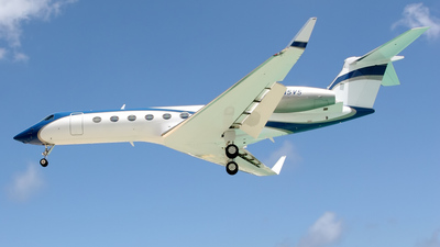 N5VS - Gulfstream G550 - Private