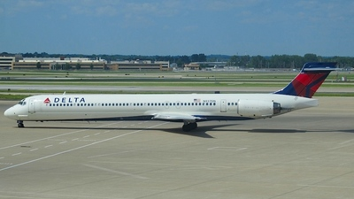N937DN - McDonnell Douglas MD-90-30 - Delta Air Lines