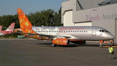 RA-89009 - Sukhoi Superjet 100-95B - Aeroflot