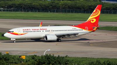B-5503 - Boeing 737-84P - Hainan Airlines