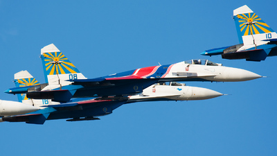 08 - Sukhoi Su-27SM3 Flanker B - Russia - Air Force