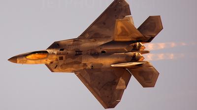 04-4068 - Lockheed Martin F-22A Raptor - United States - US Air Force (USAF)
