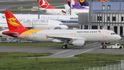 F-WWIT - Airbus A320-214 - Capital Airlines