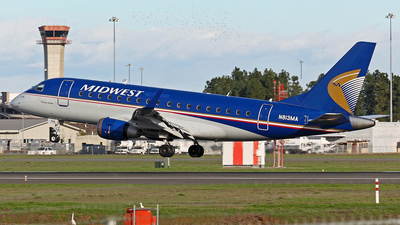 N813MA - Embraer 170-100SU - Midwest Airlines (Republic Airlines)
