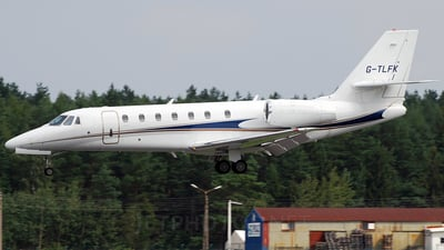 G-TLFK - Cessna 680 Citation Sovereign - TAG Aviation