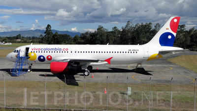 HK-4861X - Airbus A320-214 - VivaColombia