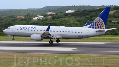 N34222 - Boeing 737-824 - United Airlines (Continental Airlines)