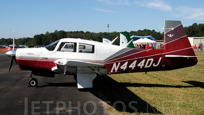 A picture of N444DJ - Mooney M20C - [700075] - © Agustin Anaya