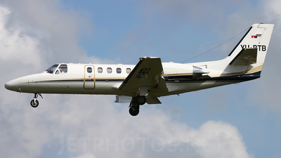 YU-BTB - Cessna 550B Citation Bravo - Air Pink
