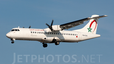 CN-COC - ATR 72-202 - Royal Air Maroc Express
