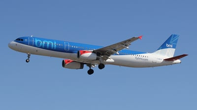 G-MEDN - Airbus A321-231 - bmi British Midland International