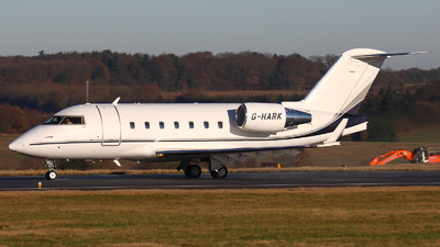 A picture of GHARK - Bombardier Challenger 604 - [5646] - © Dave Potter