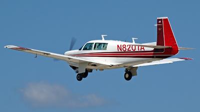 A picture of N8201A - Mooney M20J - [240603] - © Steve Homewood
