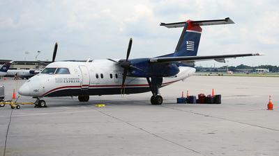A picture of N935HA - De Havilland Canada Dash 8100 - [142] - © Hongming Zheng