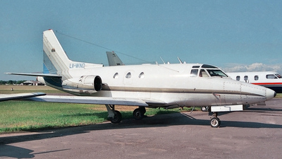 LV-WND - Rockwell Sabreliner 40 - Private