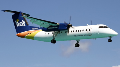 V2-LFM - Bombardier Dash 8-311 - Leeward Islands Air Transport (LIAT)