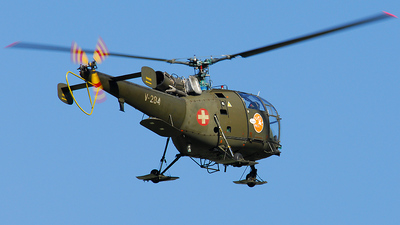 V-284 - Aérospatiale SA 316B Alouette III - Switzerland - Air Force
