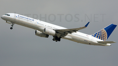 N14115 - Boeing 757-224 - Continental Airlines