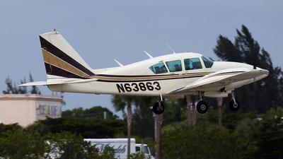 A picture of N63863 - Piper PA23250 Aztec - [277854015] - © John Magero