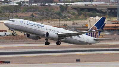 N39297 - Boeing 737-824 - Continental Airlines