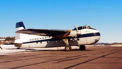CF-WAE - Bristol 170 Freighter Mk.31M - Norcanair