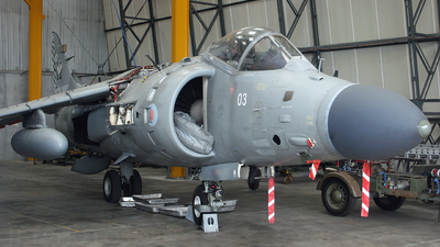 ZH803 - Hawker Siddeley Sea Harrier F/A.2 - United Kingdom - Royal Navy