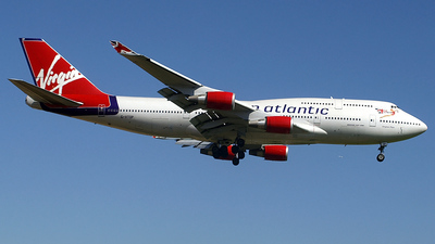 G-VTOP - Boeing 747-4Q8 - Virgin Atlantic Airways