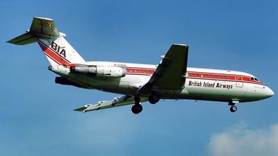 G-CBIA - BAC 1-11-416EK - British Island Airways