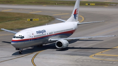 9M-MMU - Boeing 737-4H6 - Malaysia Airlines