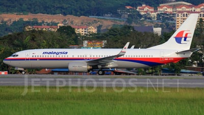 9M-FFD - Boeing 737-85F - Malaysia Airlines